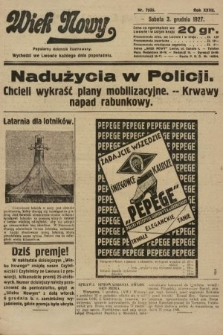 Wiek Nowy : popularny dziennik ilustrowany. 1927, nr7935