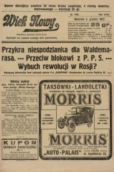 Wiek Nowy : popularny dziennik ilustrowany. 1927, nr7936