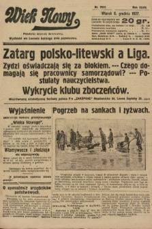 Wiek Nowy : popularny dziennik ilustrowany. 1927, nr7937