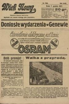 Wiek Nowy : popularny dziennik ilustrowany. 1927, nr7938