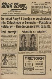 Wiek Nowy : popularny dziennik ilustrowany. 1927, nr7940