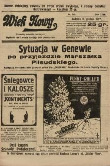 Wiek Nowy : popularny dziennik ilustrowany. 1927, nr7941