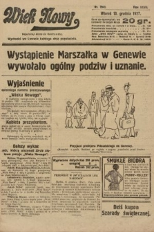 Wiek Nowy : popularny dziennik ilustrowany. 1927, nr7942