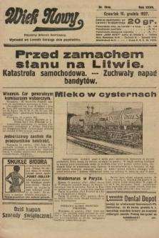Wiek Nowy : popularny dziennik ilustrowany. 1927, nr7944