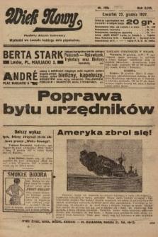 Wiek Nowy : popularny dziennik ilustrowany. 1927, nr7950