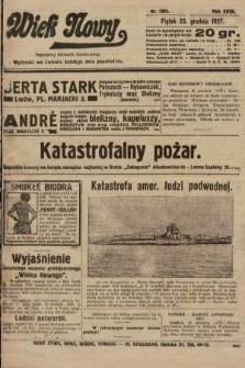 Wiek Nowy : popularny dziennik ilustrowany. 1927, nr7951