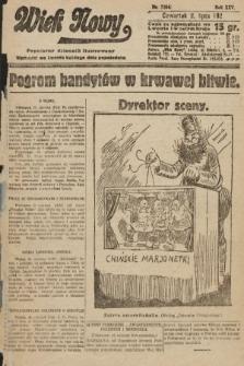 Wiek Nowy : popularny dziennik ilustrowany. 1925, nr7204