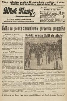 Wiek Nowy : popularny dziennik ilustrowany. 1925, nr7207