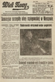 Wiek Nowy : popularny dziennik ilustrowany. 1925, nr7210