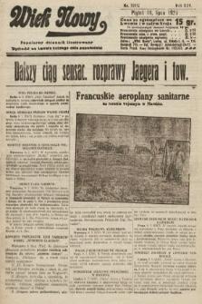 Wiek Nowy : popularny dziennik ilustrowany. 1925, nr7211