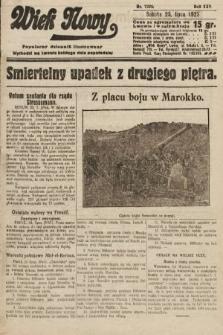 Wiek Nowy : popularny dziennik ilustrowany. 1925, nr7224