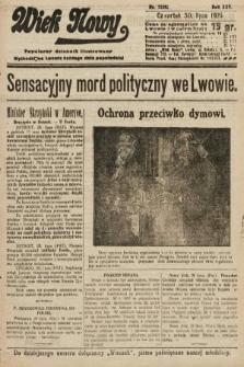 Wiek Nowy : popularny dziennik ilustrowany. 1925, nr7228