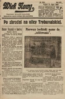 Wiek Nowy : popularny dziennik ilustrowany. 1925, nr7229