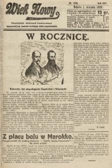 Wiek Nowy : popularny dziennik ilustrowany. 1925, nr7230