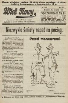 Wiek Nowy : popularny dziennik ilustrowany. 1925, nr7237