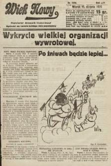 Wiek Nowy : popularny dziennik ilustrowany. 1925, nr7238