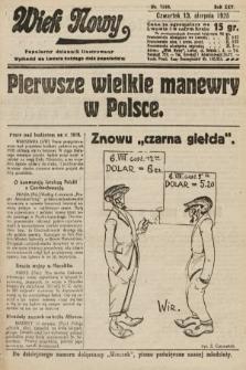 Wiek Nowy : popularny dziennik ilustrowany. 1925, nr7240