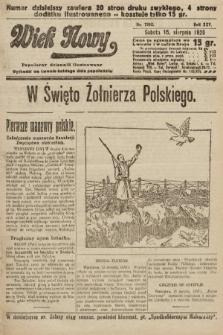 Wiek Nowy : popularny dziennik ilustrowany. 1925, nr7242