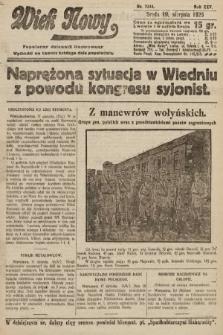 Wiek Nowy : popularny dziennik ilustrowany. 1925, nr7244