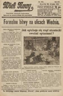 Wiek Nowy : popularny dziennik ilustrowany. 1925, nr7245