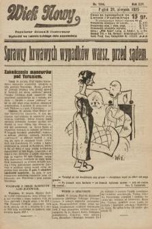 Wiek Nowy : popularny dziennik ilustrowany. 1925, nr7246