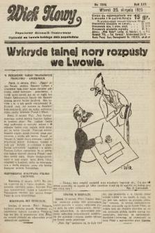 Wiek Nowy : popularny dziennik ilustrowany. 1925, nr7249