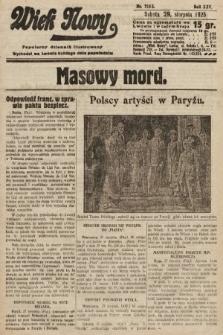 Wiek Nowy : popularny dziennik ilustrowany. 1925, nr7253