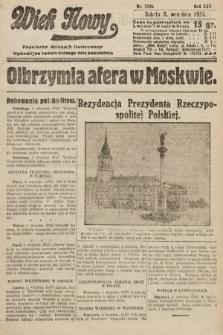Wiek Nowy : popularny dziennik ilustrowany. 1925, nr7259