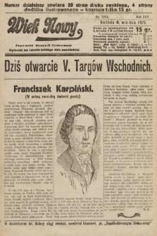 Wiek Nowy : popularny dziennik ilustrowany. 1925, nr7260