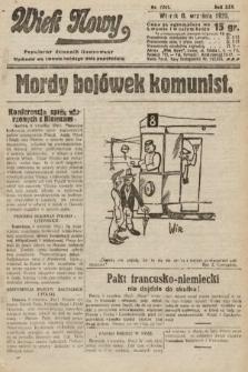 Wiek Nowy : popularny dziennik ilustrowany. 1925, nr7261