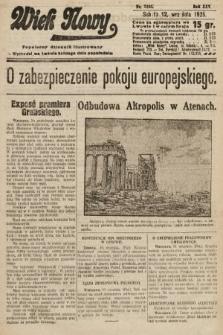 Wiek Nowy : popularny dziennik ilustrowany. 1925, nr7265