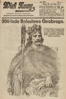 Wiek Nowy : popularny dziennik ilustrowany. 1925, nr7268