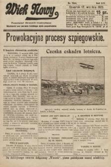 Wiek Nowy : popularny dziennik ilustrowany. 1925, nr7269