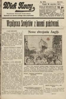 Wiek Nowy : popularny dziennik ilustrowany. 1925, nr7270