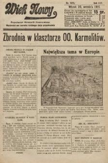 Wiek Nowy : popularny dziennik ilustrowany. 1925, nr7273