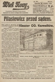 Wiek Nowy : popularny dziennik ilustrowany. 1925, nr7275
