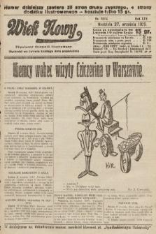 Wiek Nowy : popularny dziennik ilustrowany. 1925, nr7278