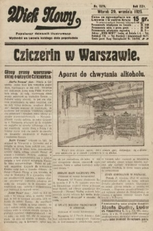 Wiek Nowy : popularny dziennik ilustrowany. 1925, nr7279