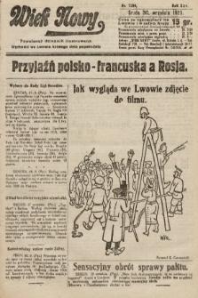 Wiek Nowy : popularny dziennik ilustrowany. 1925, nr7280