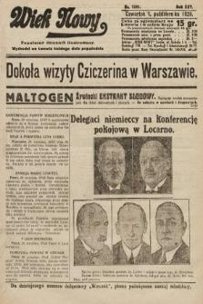 Wiek Nowy : popularny dziennik ilustrowany. 1925, nr7281