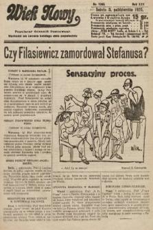 Wiek Nowy : popularny dziennik ilustrowany. 1925, nr7283