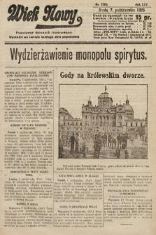 Wiek Nowy : popularny dziennik ilustrowany. 1925, nr7286