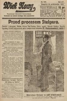 Wiek Nowy : popularny dziennik ilustrowany. 1925, nr7287