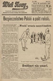 Wiek Nowy : popularny dziennik ilustrowany. 1925, nr7289