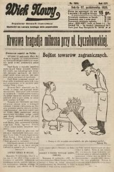 Wiek Nowy : popularny dziennik ilustrowany. 1925, nr7295