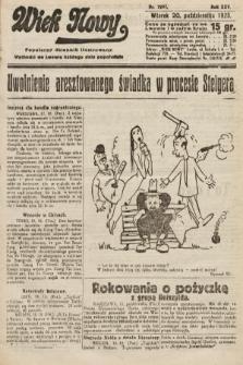Wiek Nowy : popularny dziennik ilustrowany. 1925, nr7297