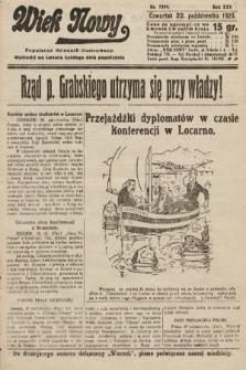 Wiek Nowy : popularny dziennik ilustrowany. 1925, nr7299