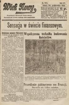 Wiek Nowy : popularny dziennik ilustrowany. 1925, nr7301