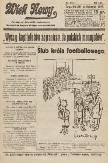 Wiek Nowy : popularny dziennik ilustrowany. 1925, nr7305