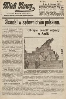 Wiek Nowy : popularny dziennik ilustrowany. 1925, nr7310
